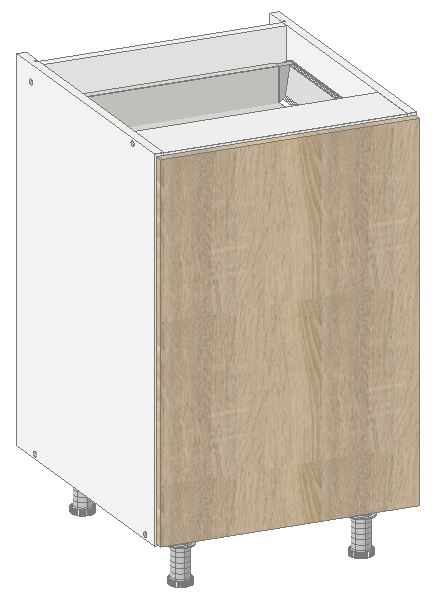 Vd13 base cabinet from the offer of kitchen cabinets for Kitchen cabinets 500mm depth